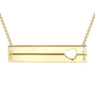 Write name on Jewellery Custom engraved personalized 14k gold name necklace