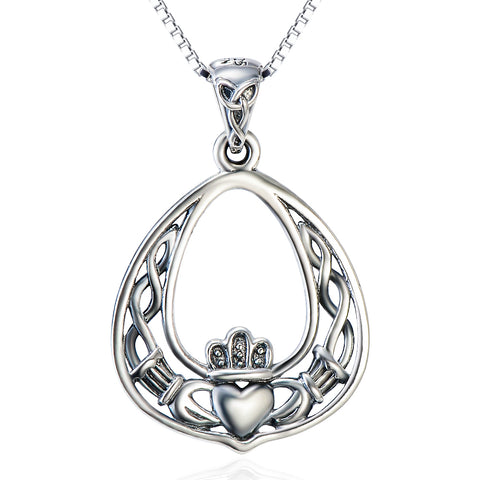 Classic Crown Necklace Wholesale 925 Sterling Silver Precious Necklace
