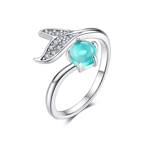 Mermaid Tear Ring