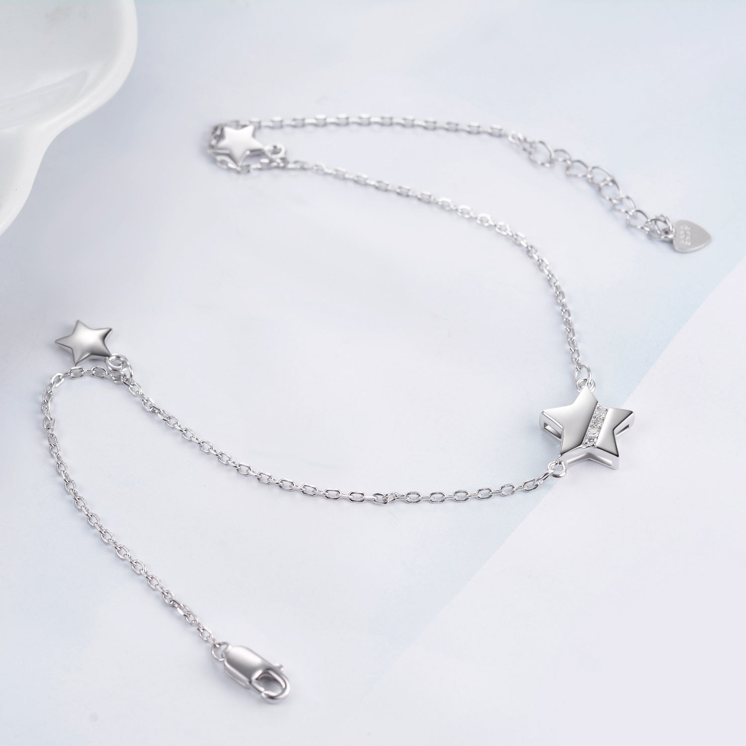 Pentagram Anklet Little Stars Pendant Bracelet For Girl Foot Jewelry Design