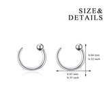 Nose Hoop Ring Manufacturer Fashion Jewelry Hoop Piercing Nose Ring