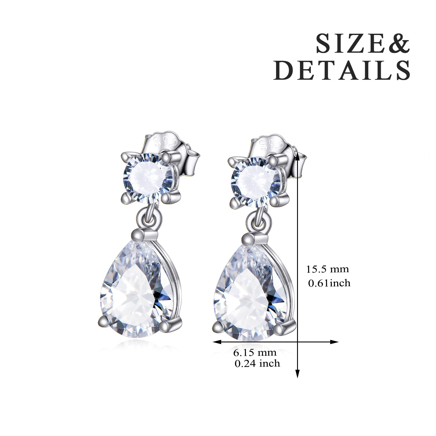 Newest Hot Selling Fashion Water Drop Earring for Women and Girls