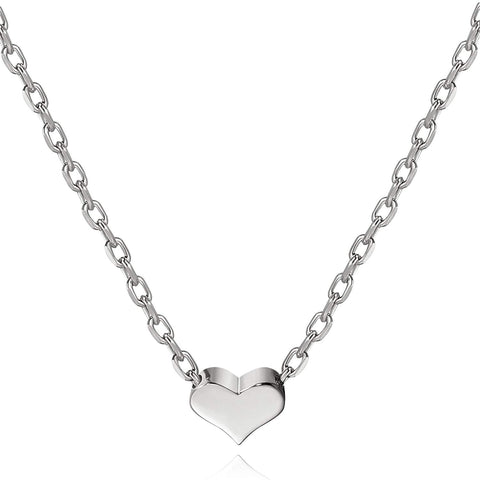Heart Necklaces for Women Love Heart Necklace Sterling Silver