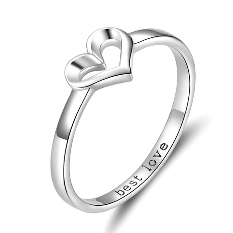 love shape ring