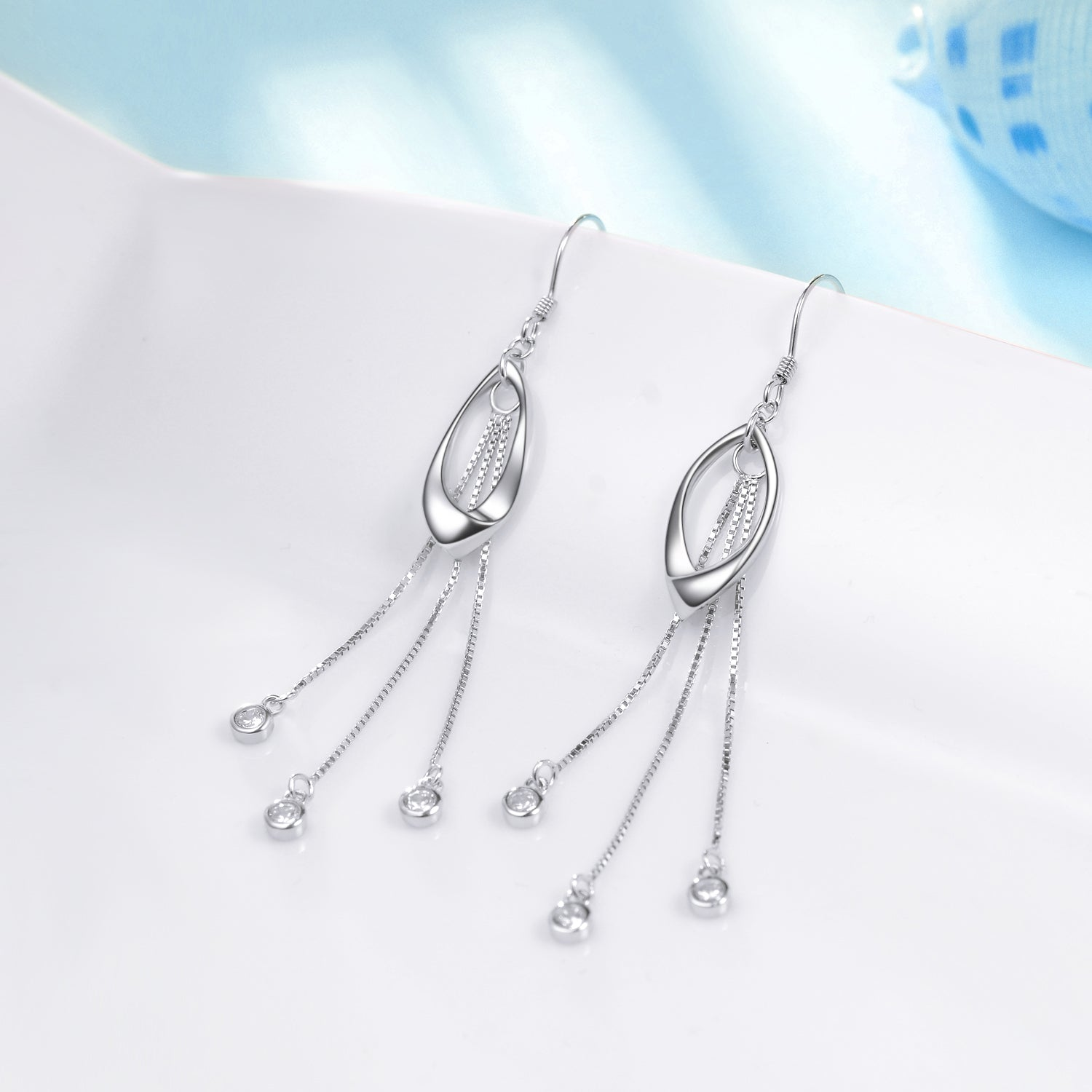 Latest Design Long Drop Elegant Earring For Women