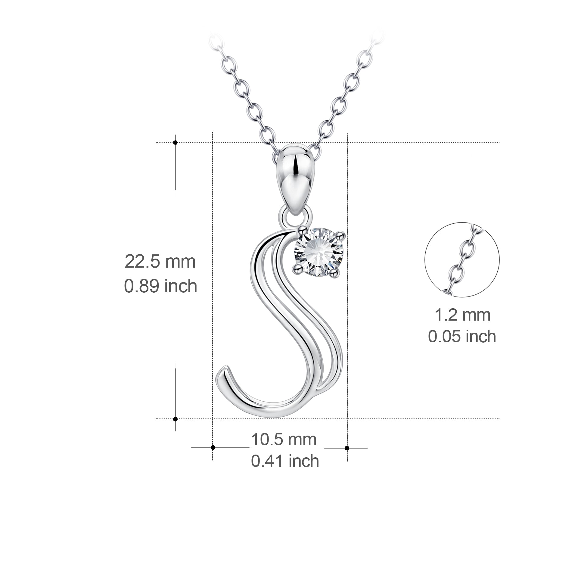 Big Letter Women Fashion Jewelry Body Chain 26 Alphabet Letters pendant Necklaces