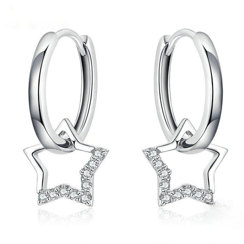 Clear CZ Earrings
