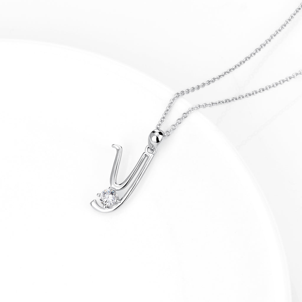 Superior Quality Fashion Wholesale Necklace Woman Jewelry Alphabet Necklace