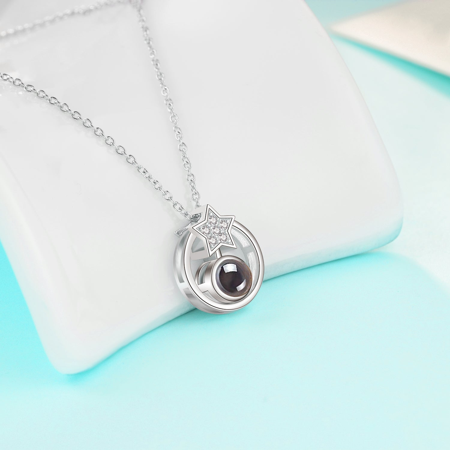 Wholesale Factory Necklace Customize Polished 925 Sterling Custom Necklace