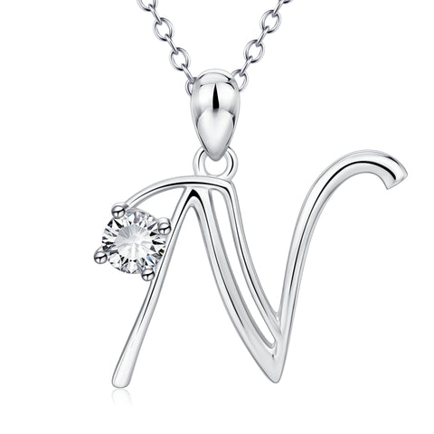 Personalized Popular Pendant Necklace Wholesale Silver Jewellery 2019