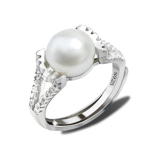 Gemstone Price Pearl ring Designs Wholesale Smart Ring Jewelry
