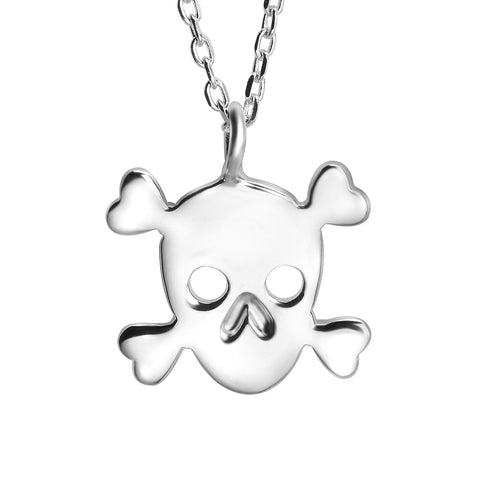 Skull Skeleton Necklace Wholesale S925 Fashion Jewelry For Women