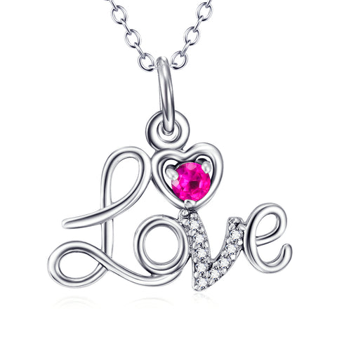 Loving For Lovers Pendant Necklace Wholesale 925 Sterling Silver Jewelry Gifts
