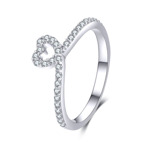 love heart ring
