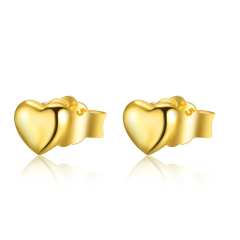 Wholesale Creative Loving Heart Earrings for Elegant Lady