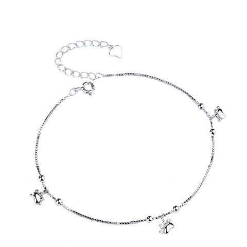 cute cat claw anklet
