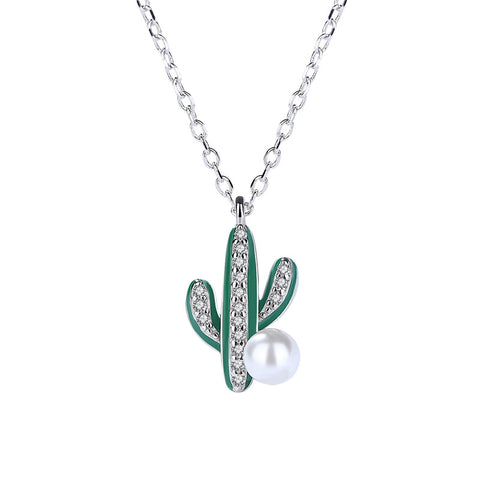 Creative Cactus Necklace