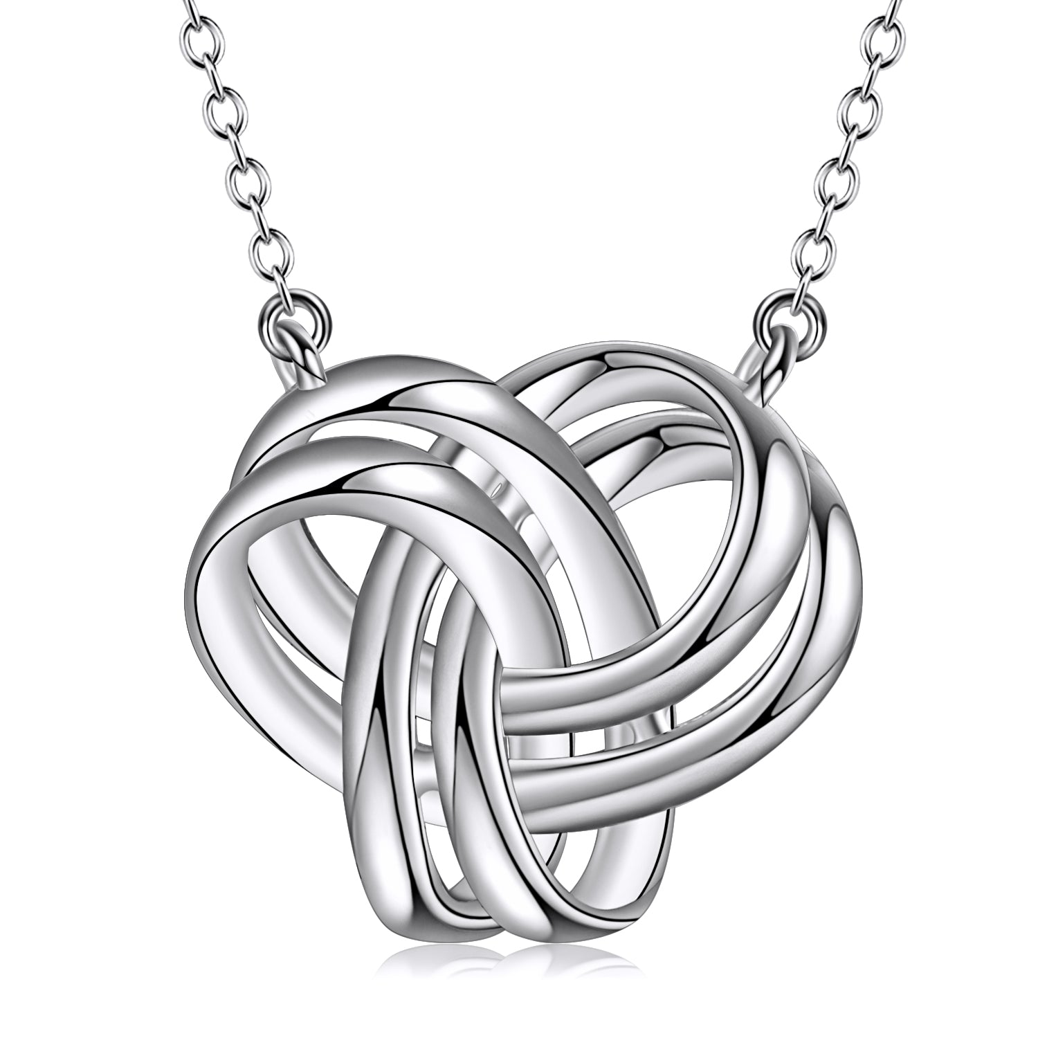 Celtic Knot Necklace Designs For Women And Men Couple Necklace