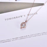 Trendy Heart Necklace Mother Loving  For Women Jewelry Necklace