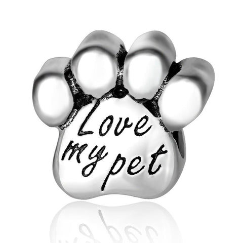 Paw Charm for Bracelet and Necklace