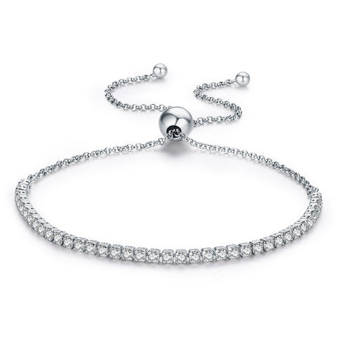 S925 Sterling Silver Adjustable Bracelets