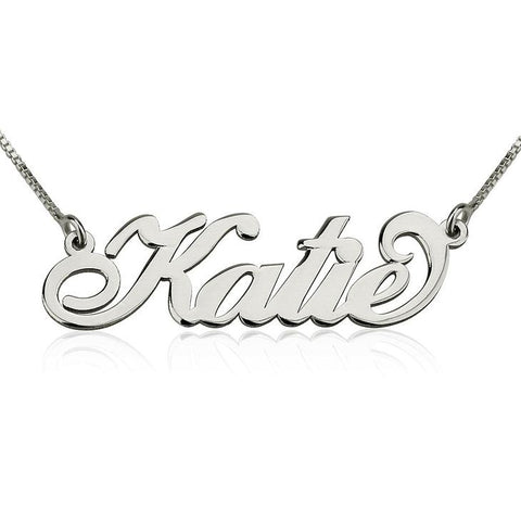 Personalized Classic Name Necklace Chain Necklace