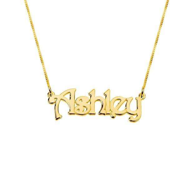 "925 Sterling Silver Personalized Name Necklaces Adjustable Chain 16""-20"""