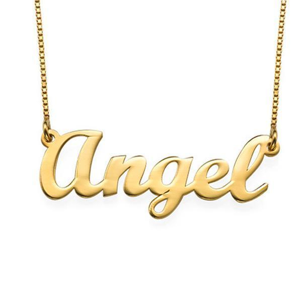 "Personalized Classic Name Necklaces Adjustable Chain 16""-20"""