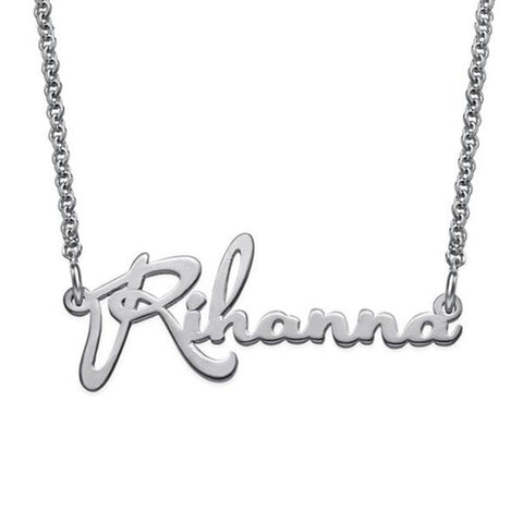 """Rihanna""-Personalized Classic Name Necklaces"