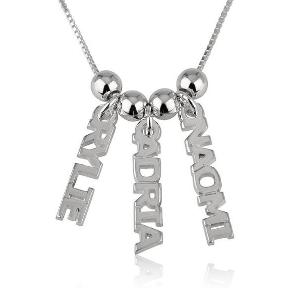 "Personalized Dangling Name Necklace Adjustable Chain 16""-20"""