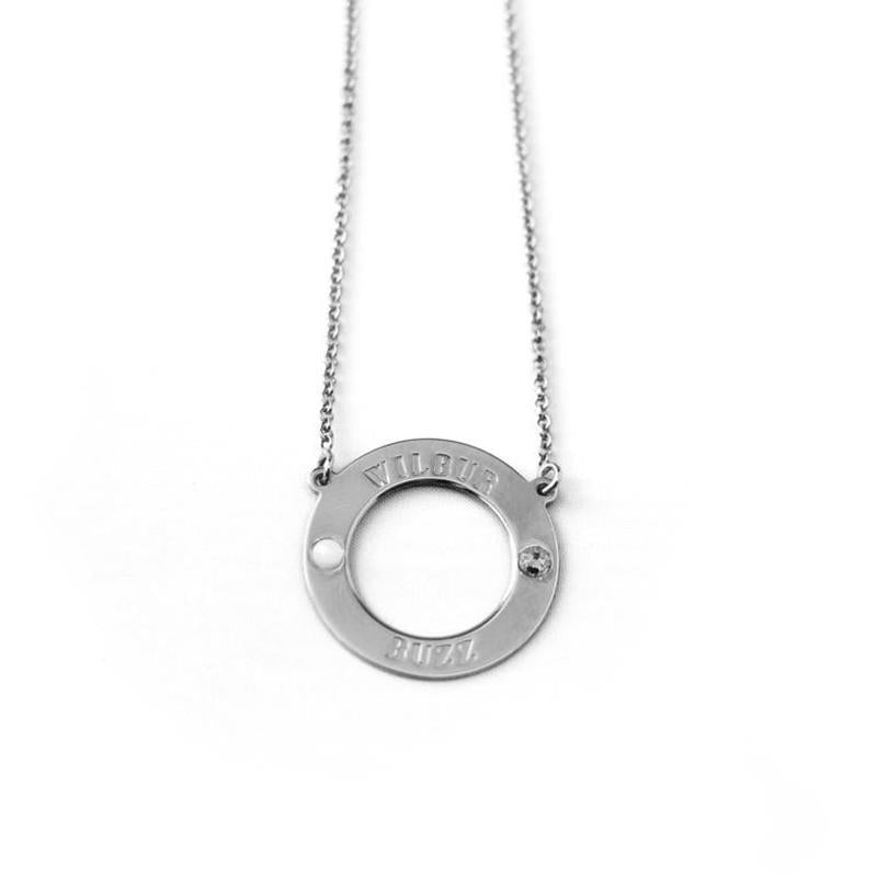 "925 Sterling Silver Personalized Karma Birthstone Necklace Adjustable 16""-20"" - 925 Sterling Silver OEM And Customization"
