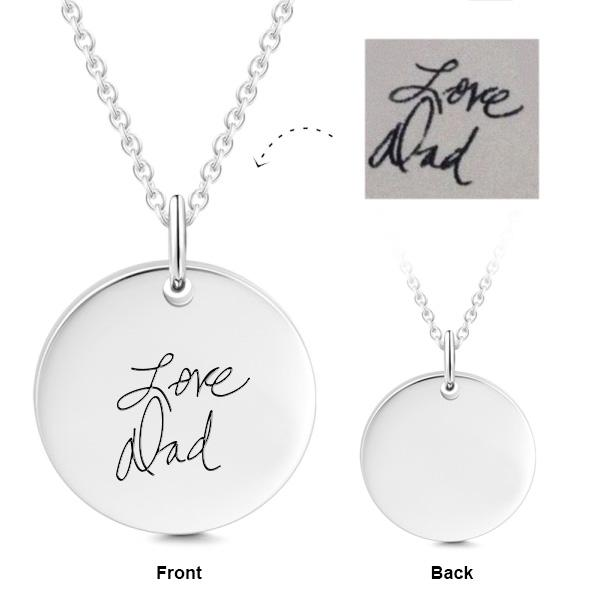 "in 925 Sterling Silver Personalized Engraved Your Name Necklace Adjustable 16""-20"""