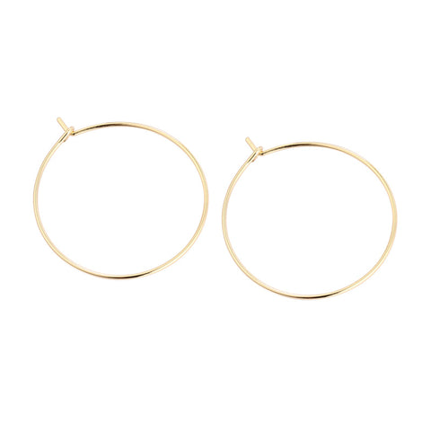 Personality Big Circle Earrings Song Huiqiao With The Earrings 925 Sterling Silver Jewelry