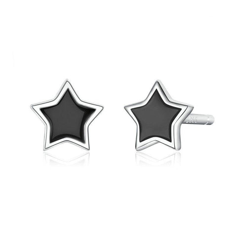 Simple Minimalist Star Stud Earrings