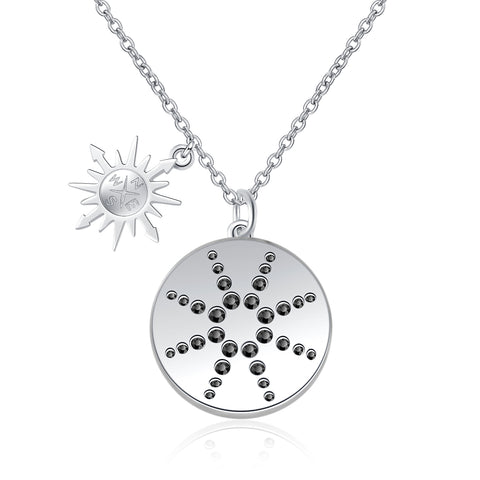 Nautical Necklace High Quality Handcrafted Round Disc Necklace