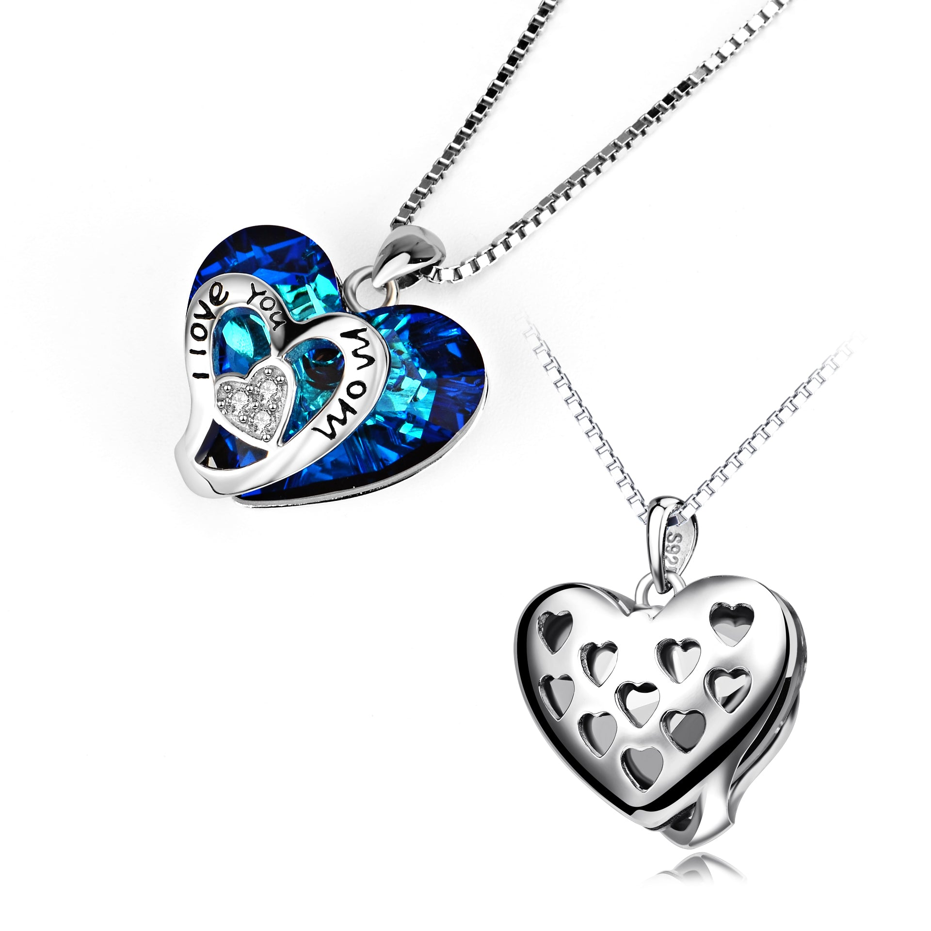 Artigifts Promotional Gifts Best Mother Heart Shaped Pendant Heart Necklace