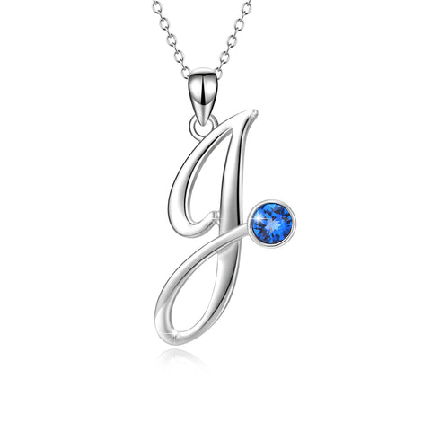 New Hot Pendant Necklace Letter Jewelry Factor Supply J Necklace For Women