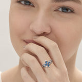 Best Jewellery Fashion Women 2019 Cubic Zirconia Rings for Wedding Women