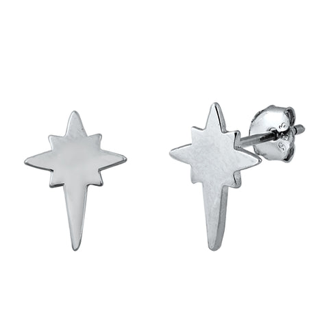 Silver Twinkle Stud Earrings