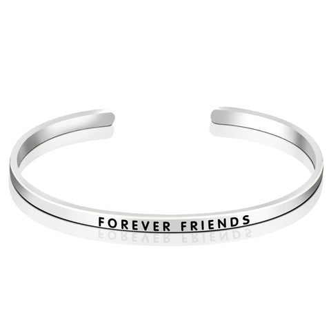 Friends Forever Bangle Design Silver Jewelry Friends Birthday Best Bangle