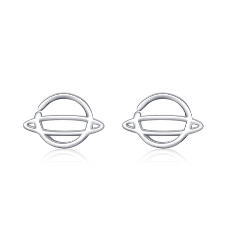 2019 Minimalist Jewelry Cute Charm 925 Silver Students Birthday Earrings