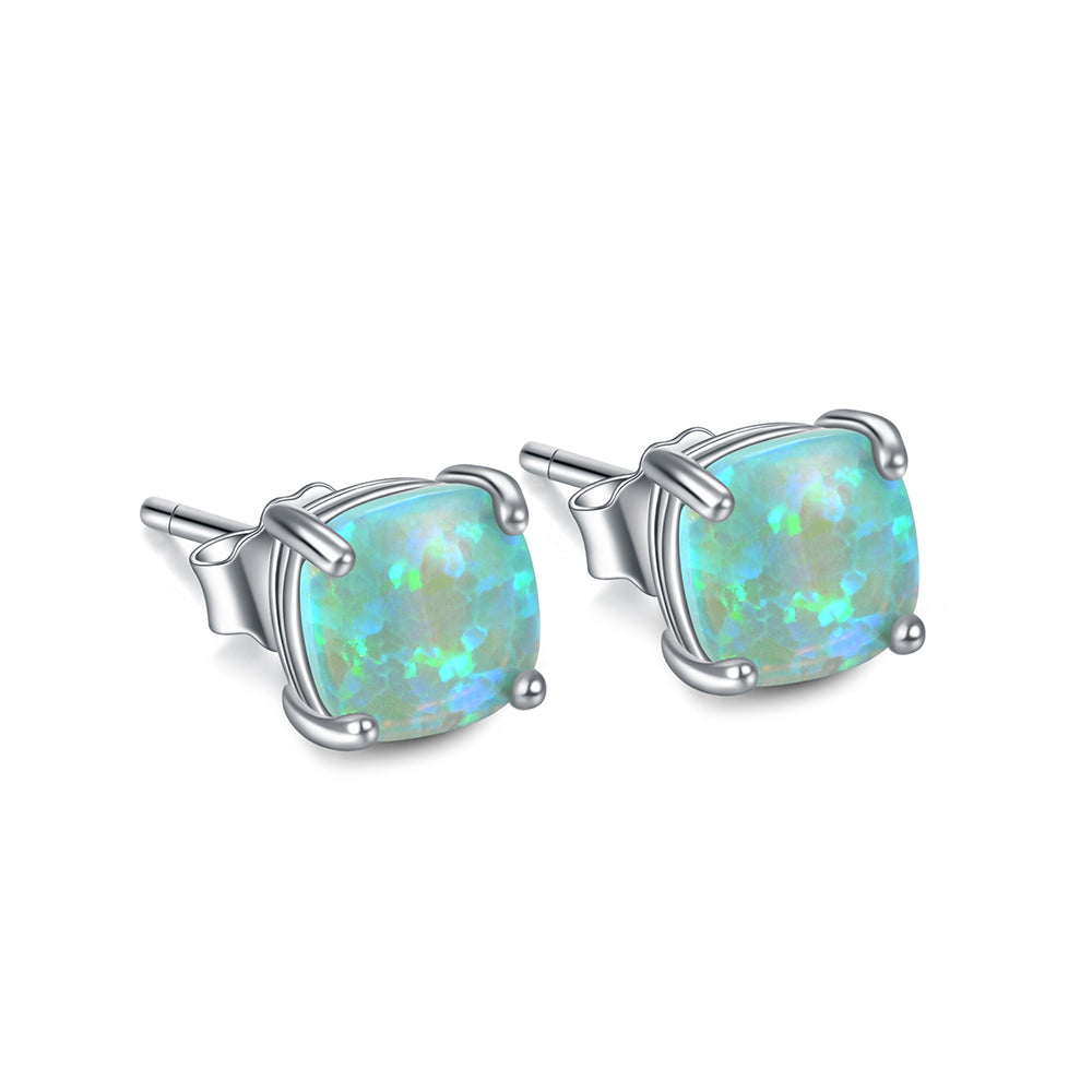 Fashion Colorful Opal Gemstone Earrings For Women Wholesale