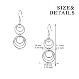 Cheap Wholesale Simple Round Circle Big Fashion Earrings Designs Wholesale