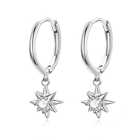 Dangle Earrings with Star