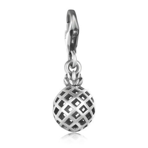 S925 Sterling Silver European And American Style Hollow Pendant Classic Wild Charms