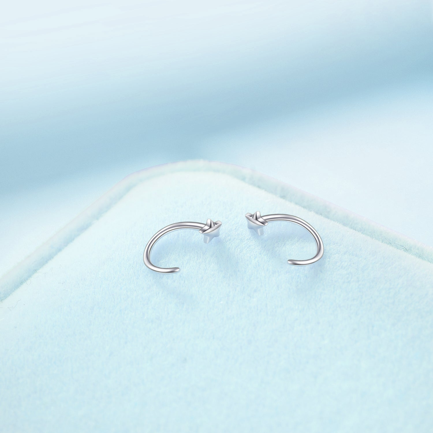 Stars in the Sky Design Nose Ring for Beautiful Female Design Nose Ring