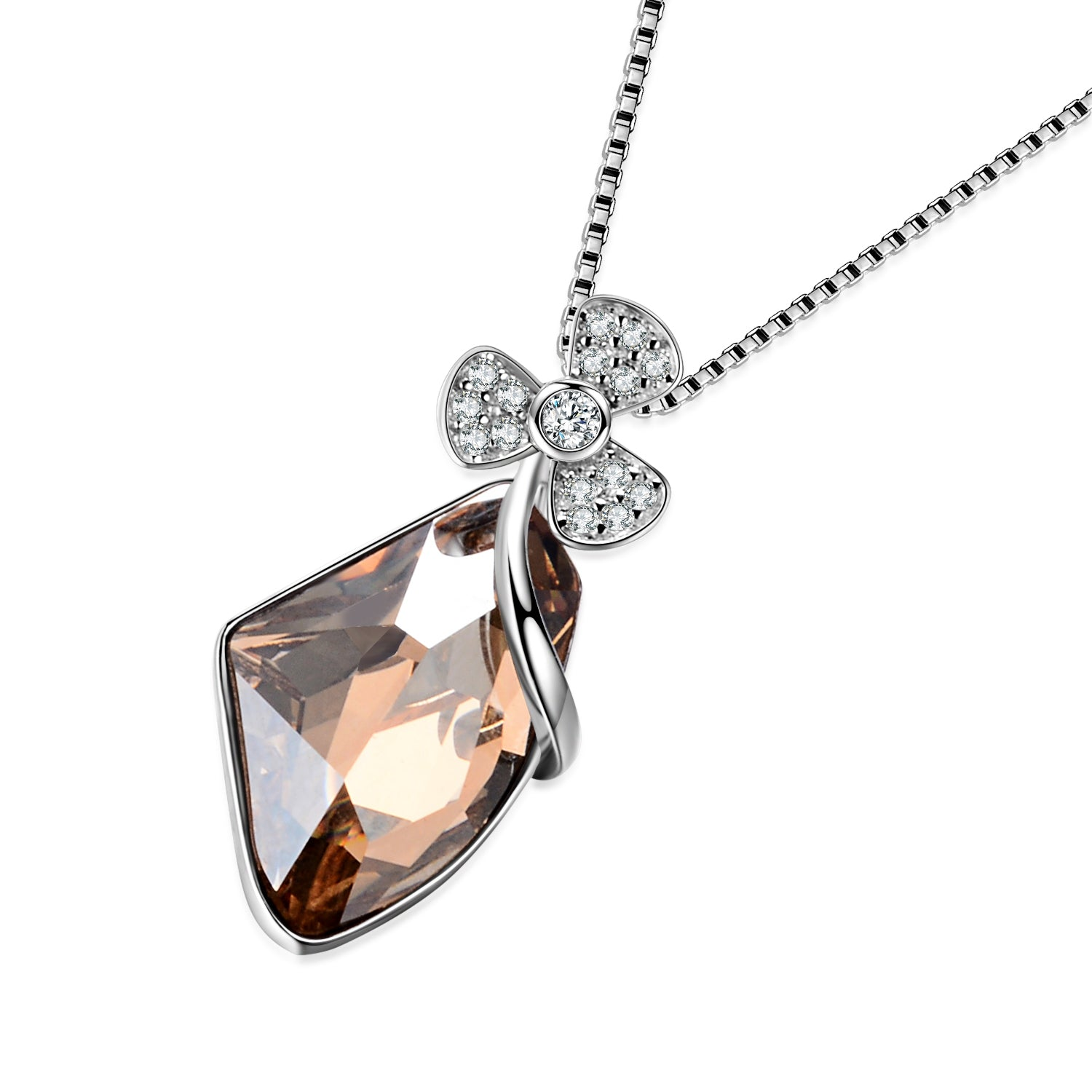 Women Jewelry Pendant Necklace Gemstone Silver 925 Wholesale Necklace