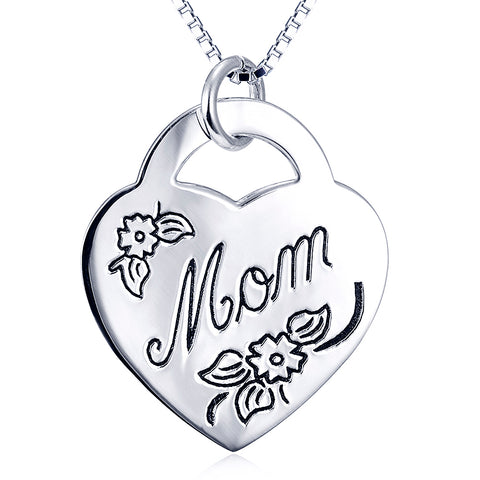 Fashion Monther Day Gift Necklace Factory 925 Sterling Silver Necklace