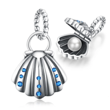 Shell Pearl 925 Sterling Silver Beads Charms