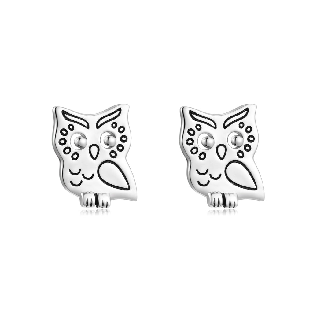 Owl Earrings Animal Engraved Jewelry Children Love Earrings Design